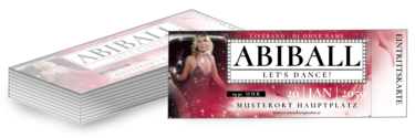 Eintrittskarte: Abiball Hollywood Night