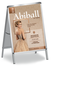 Plakat A1: Abiball Dress
