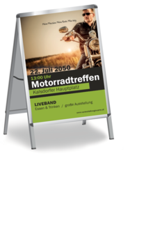 Plakat A1: Motorradsport Cool Guy