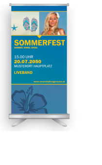 Roll-Up: Sommerfest Universal