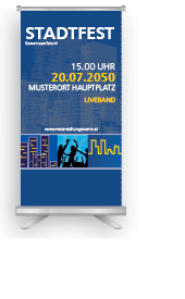 Roll-Up: Stadtfest Universal