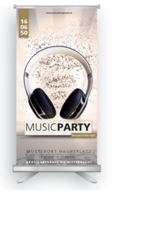 Roll-Up: Musikfestival Headphones
