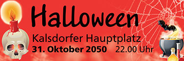 Werbebanner: Halloween - by Night