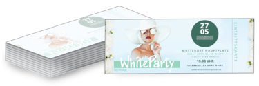 Eintrittskarte: Fete Blanche - White Party