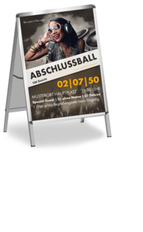 Plakat A1: Abiball - People