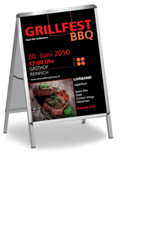 Plakat A1: Grillfest - Delicious