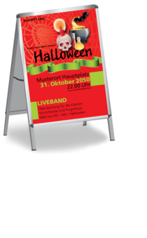 Plakat A1: Halloween - by Night