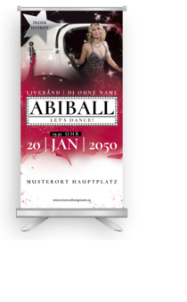 Roll-Up: Abiball Hollywood Night