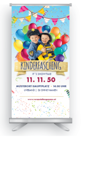 Roll-Up: Fasching Kinder