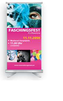 Roll-Up: Fasching - Universal