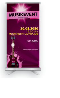 Roll-Up: Musik guitarre