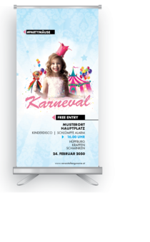 Roll-Up: Fasching - Princess
