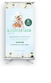 Roll-Up: Fete Blanche - White Party