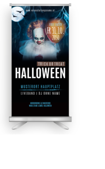 Roll-Up: Halloween - Horrorclown