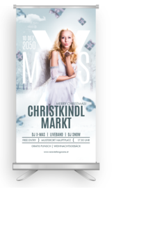 Roll-Up: Weihnachten Christkind