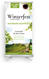 Roll-Up: Wein - Winzerfest