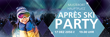 Werbebanner: Apres Ski - Party Hit
