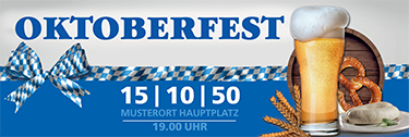 Werbebanner: Oktoberfest - Craft Beer